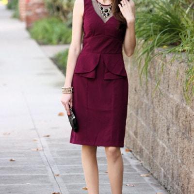 A Jewel Toned Dress – eSkakti Review