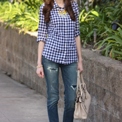 Ways to Wear Gingham: Casual