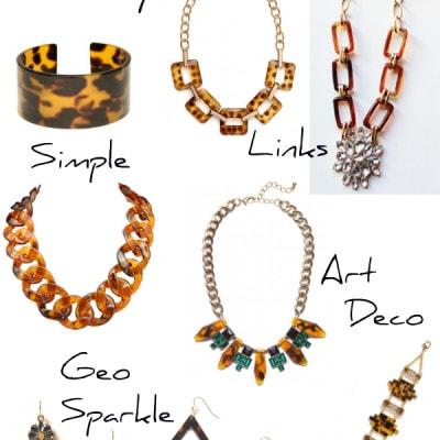 Tortoise Shell Jewelry