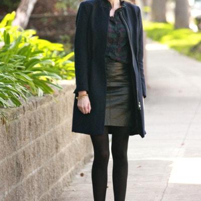 Plaid+Leather