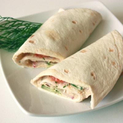 Easy Veggie Wrap