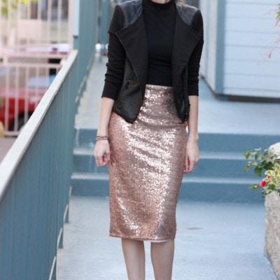 Sequin Midi Skirt Pt. 2 + My Black Friday Picks!