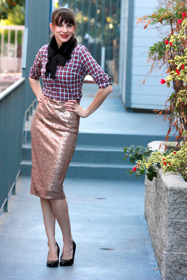 How To Wear A Sequin Skirt Mixed Up Jeans And A Teacup
