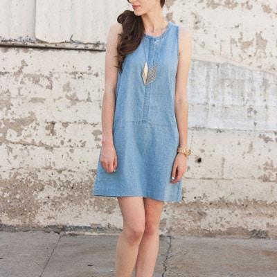 A Chambray Dress