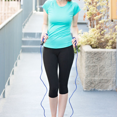 My Fitness Routine + A TKO Jump Rope Review