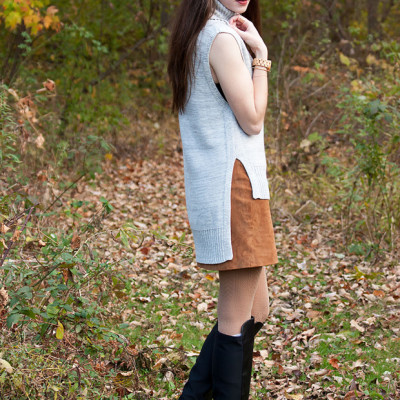 How to Style: Suede Skirt pt 3