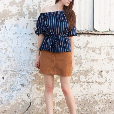 How to Style: Suede Skirt