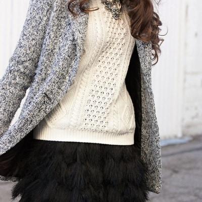 Flashback Fashion Fridays Linkup + A Feathery Skirt