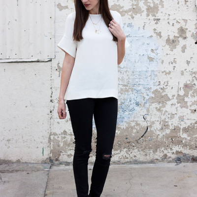 Minimalist White Top