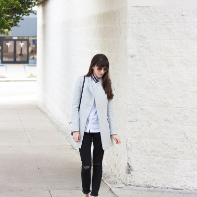 Zara Crossover Coat