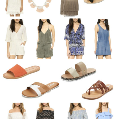 Fun Summer Wardrobe Additions