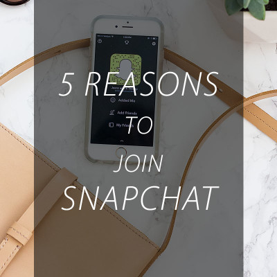 5 Reasons to Join Snapchat – Especially as a Blogger
