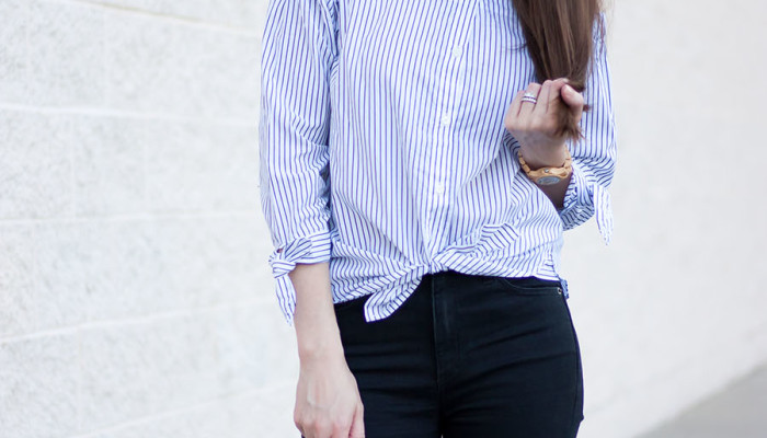 Tied Front Shirt