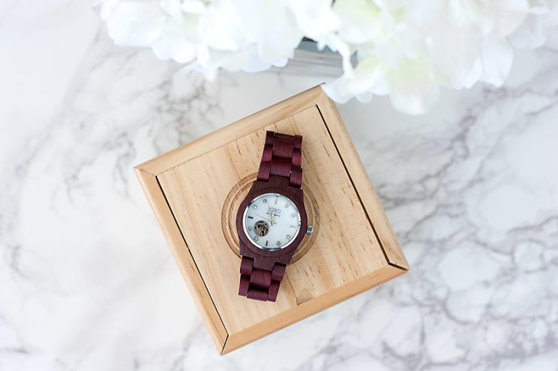Unique gifts, wood watch