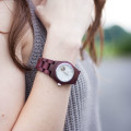 Wood Watch, Jord Cora Purpleheart Wristwatch
