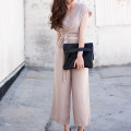 Minnie and George Clutch, Culotte Jumpsuit, Aritzia