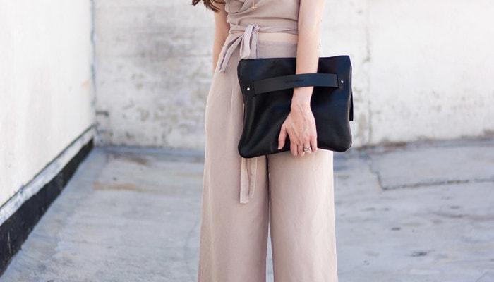 Linen Jumpsuit + Linkup!
