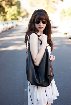 Rebecca Minkoff Hobo Bag, Ray Ban Sunglasses