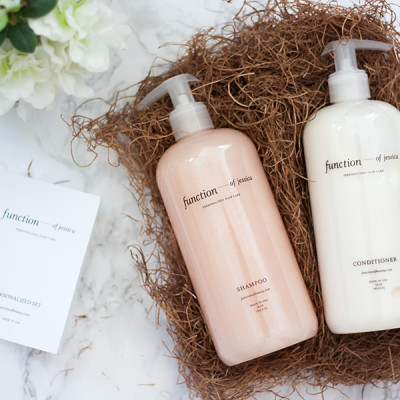 Customize Your Shampoo and Conditioner: Function of Beauty