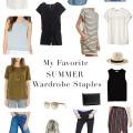 Summer Wardrobe Staples