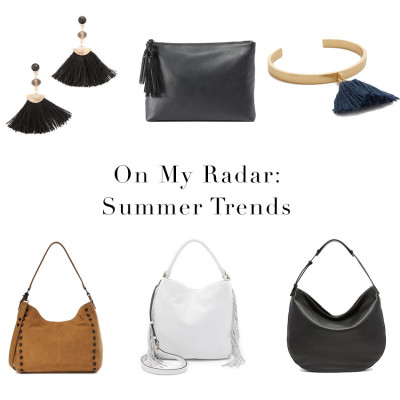 On My Radar: Summer Trends