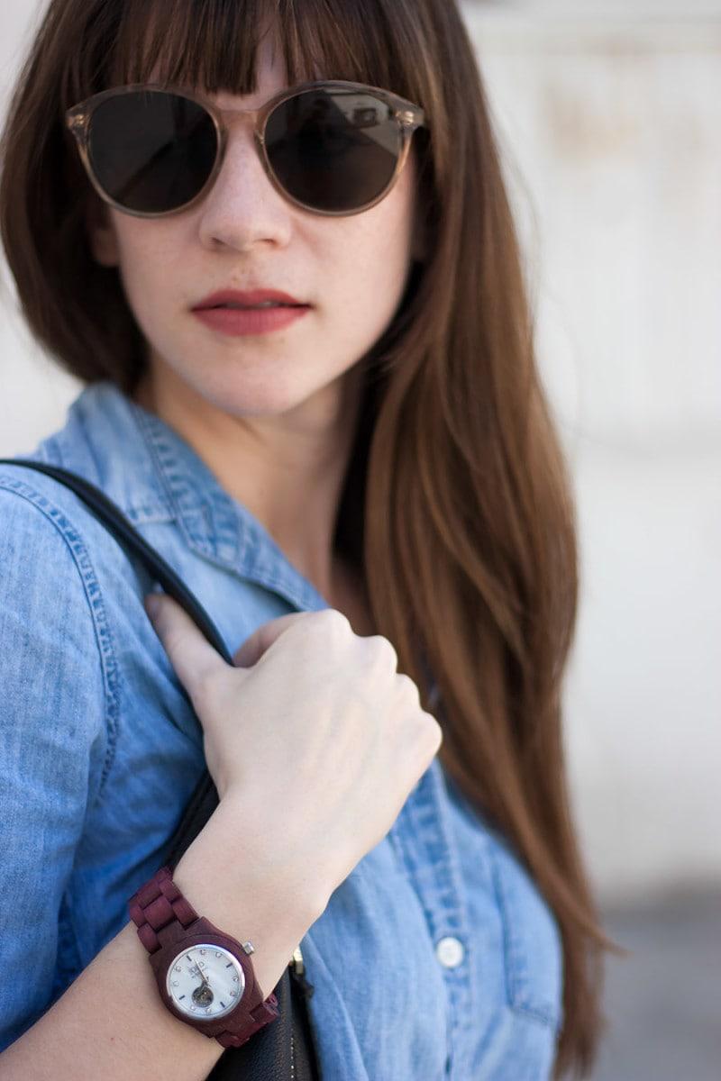 Shwood Sunglasses, Jord Watch, Wood watch
