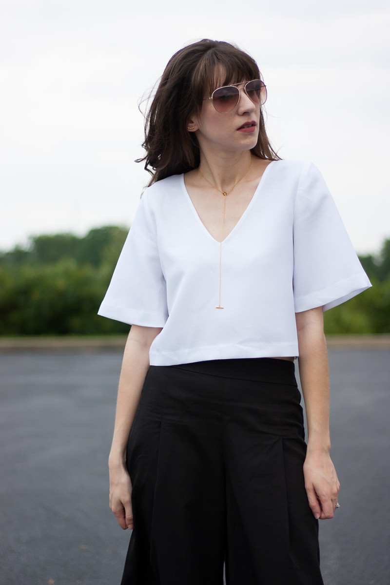 Vetta Blouse and Culottes