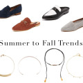 Summer to fall trends
