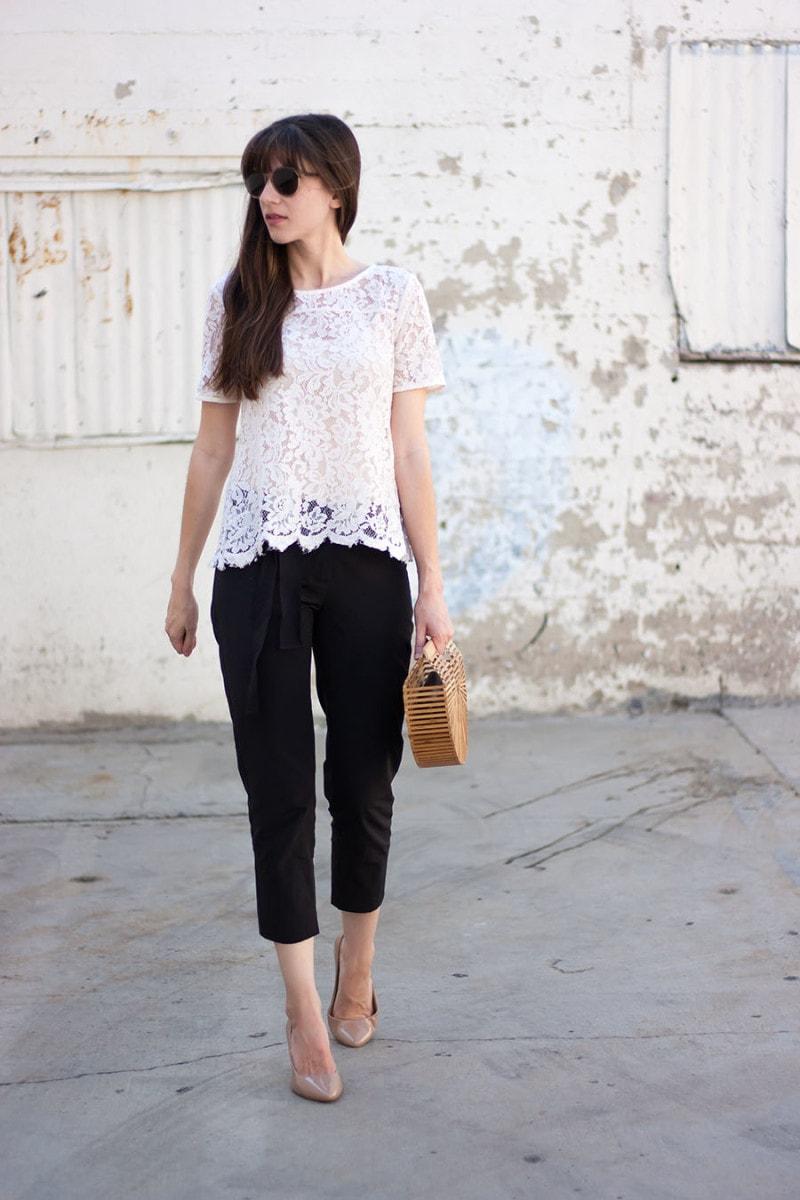 Cult Gaia Bag, Cos Pants, Fashion Blogger