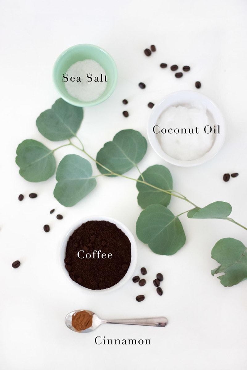 DIY Coffee Scrub Ingredients