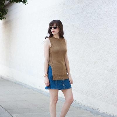 Everlane Street Sandal, Minimalist Fashion Blogger