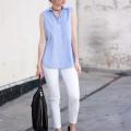 Everlane Street Sandals, Minimalist Style Blogger