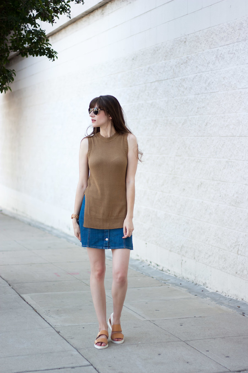 Los Angeles Minimalist Blogger, Everlane Outfit