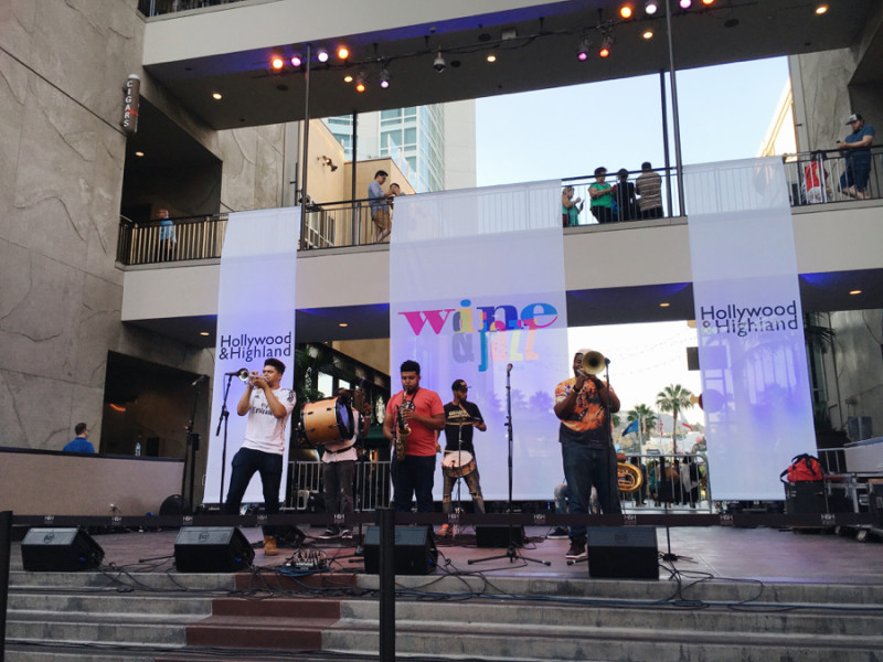 Wine and Jazz at Hollywood and Highland, Summer Concerts Hollywood