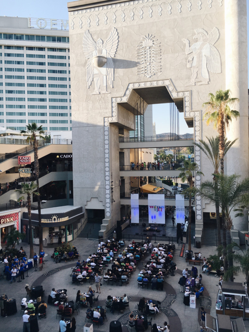 Hollywood and Highland Wine and Jazz Night