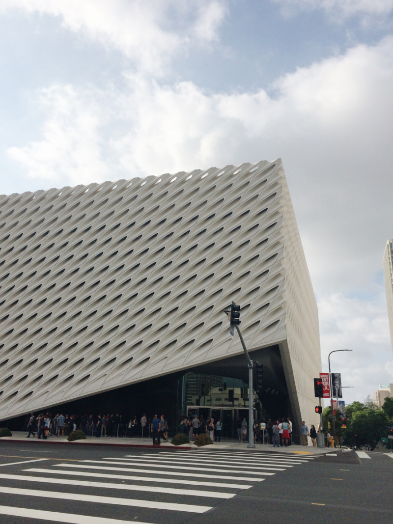 The Broad Museum, Los Angeles Museum