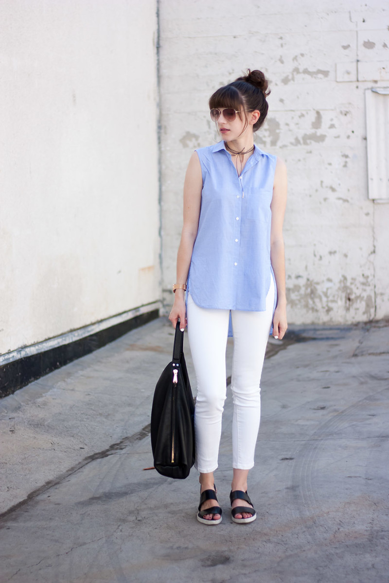 Los Angeles Style Blogger, Minimalist Style Blogger