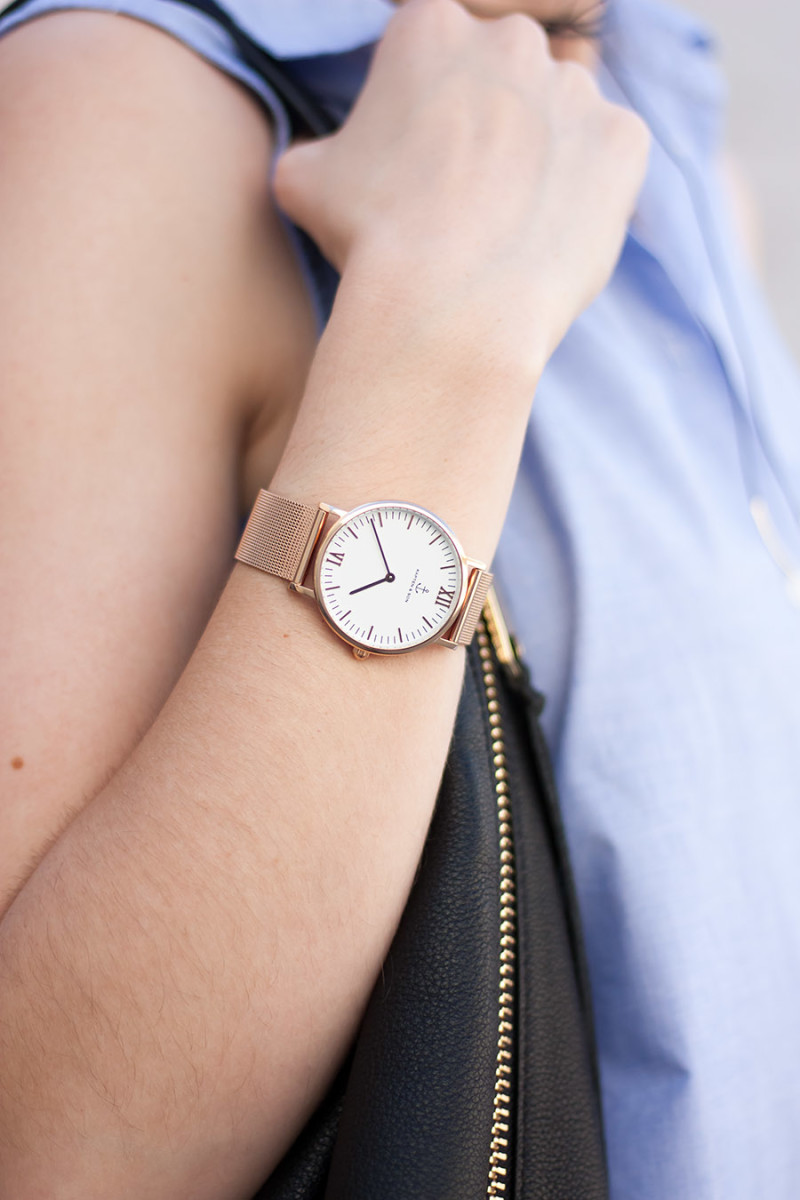 Kapten and Sons Watch, Rose Gold Watch, Minimalist Accessories
