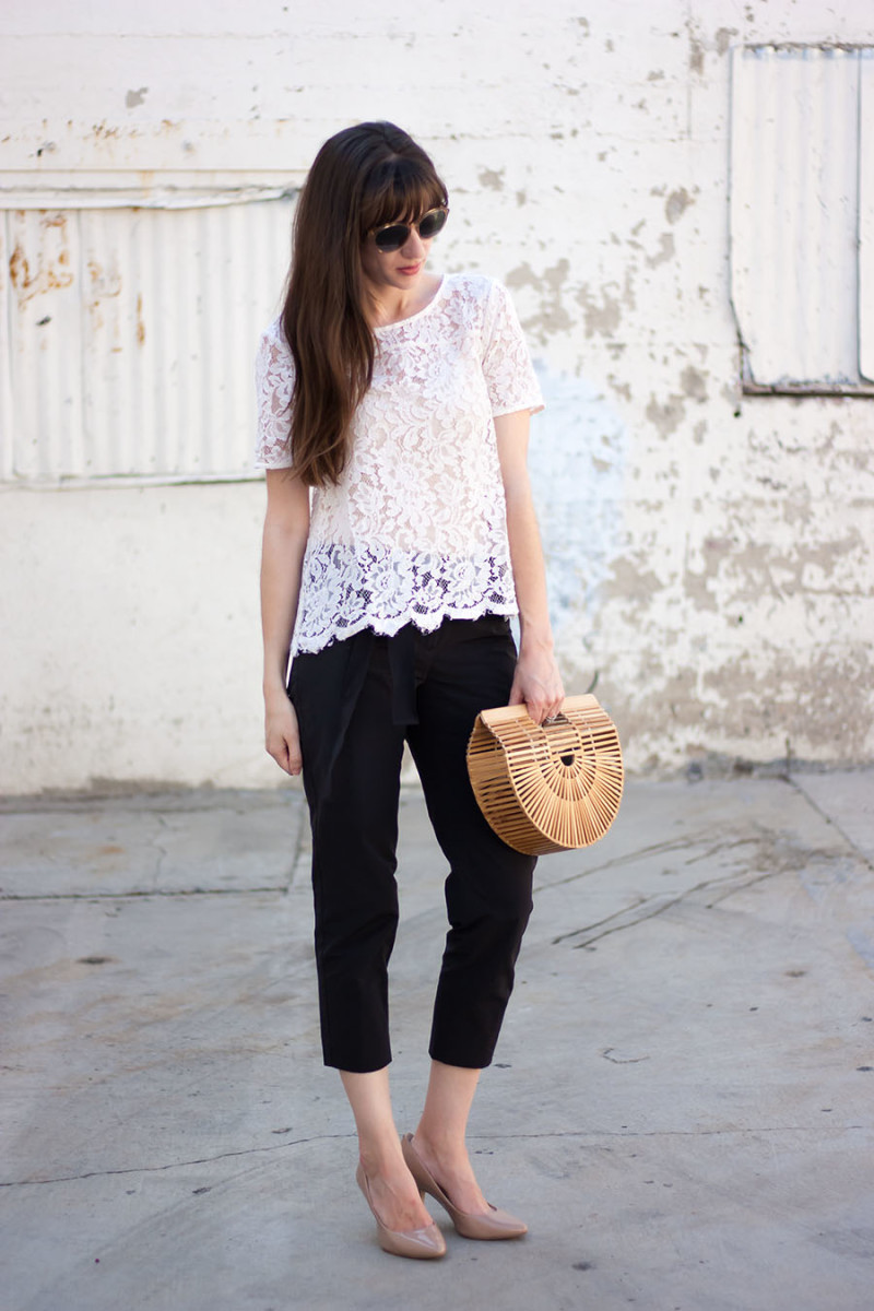 Los Angeles Fashion Blogger, Cult Gaia Ark Handbag