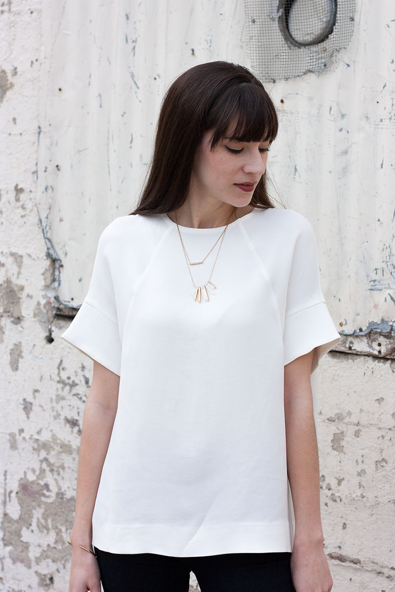 Cos Shirt, Minimalist Blouse