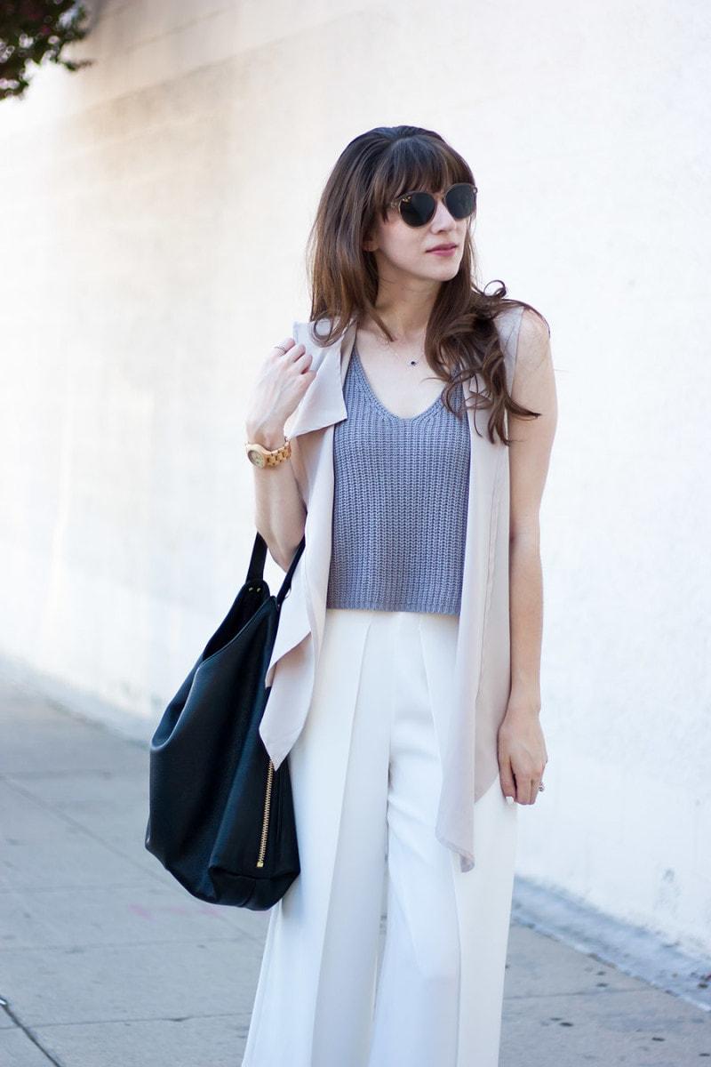 Rebecca Minkoff Bryn Hobo Bag, Modern Citizen Knit Tank