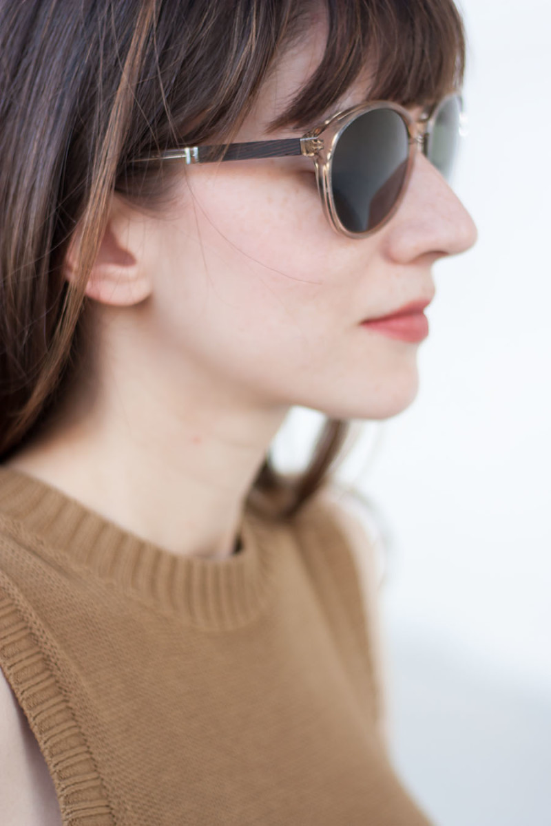 Shwood Sunglasses with wood inlay