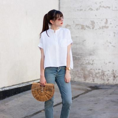 Topshop Stepped Hem Jeans, Minimalist Fashion Blog
