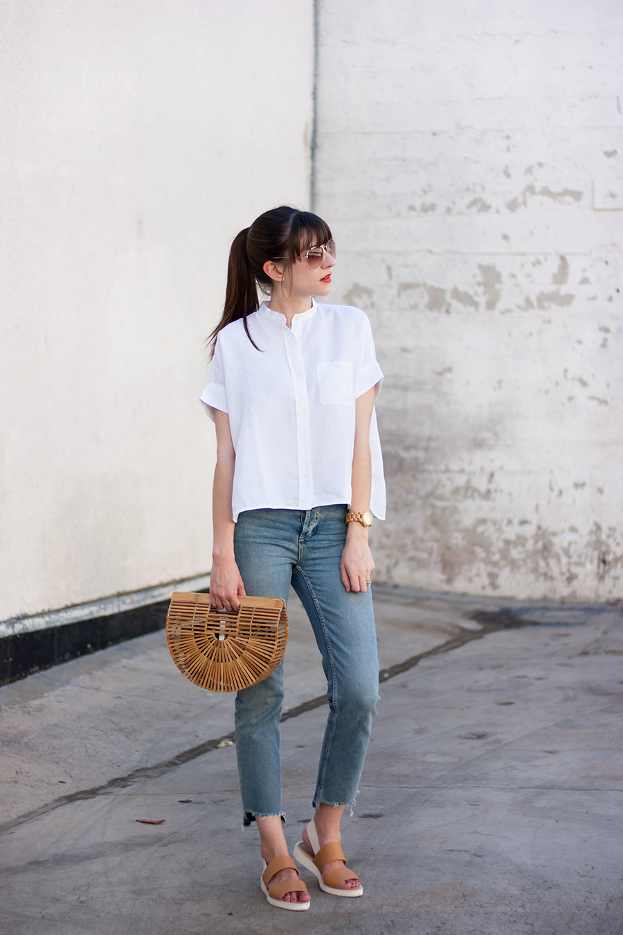 Stepped Hem Jeans Jeans And A Teacup