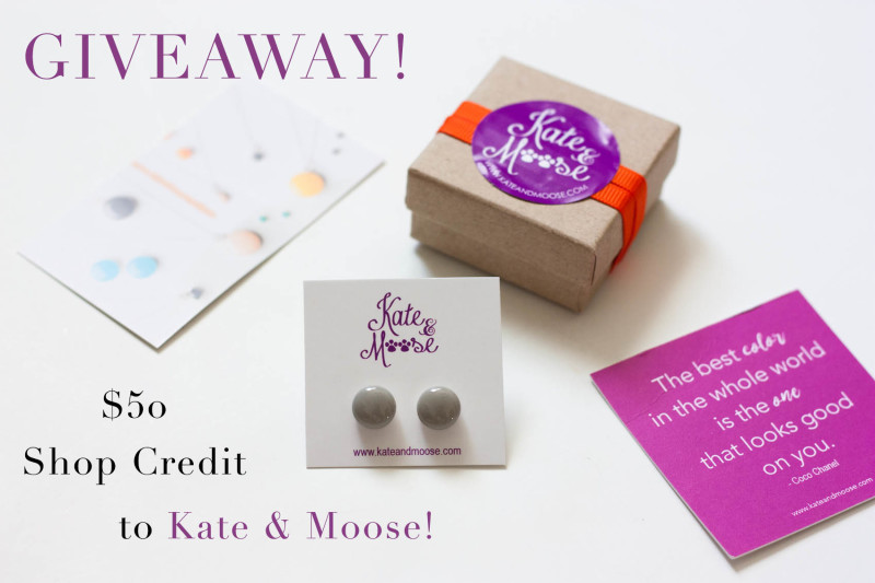 Kate and Moose Giveaway