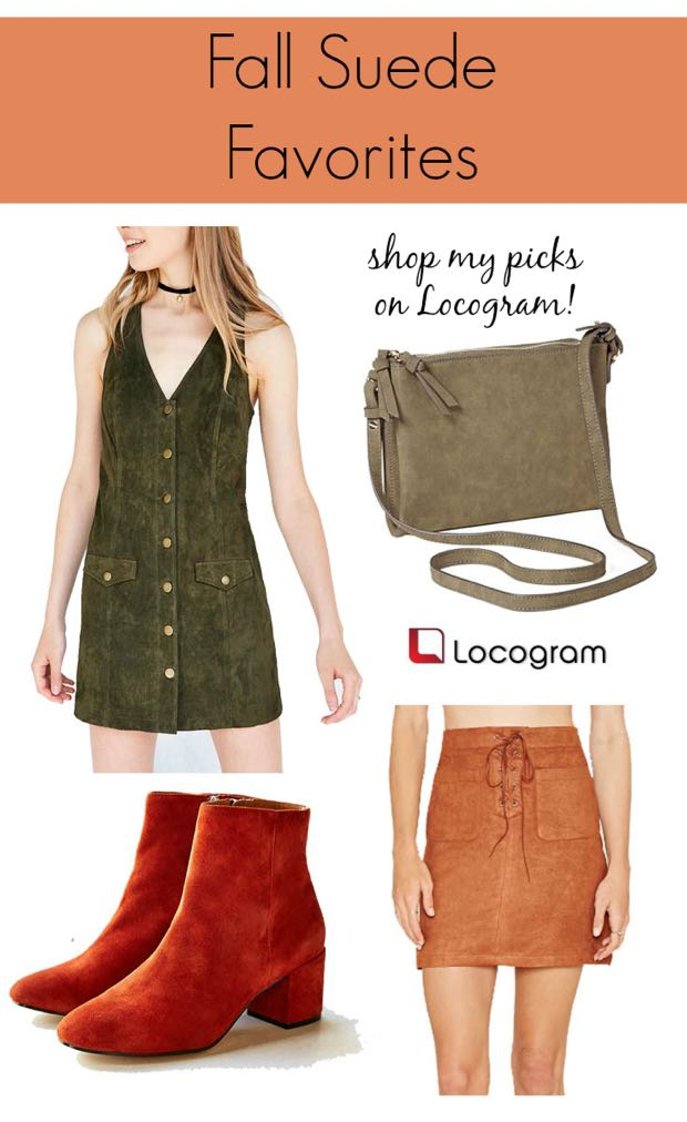Fall Suede Favorites with Locogram