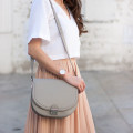 Los Angeles fashion blogger with Loeffler Randall Saddle Bag
