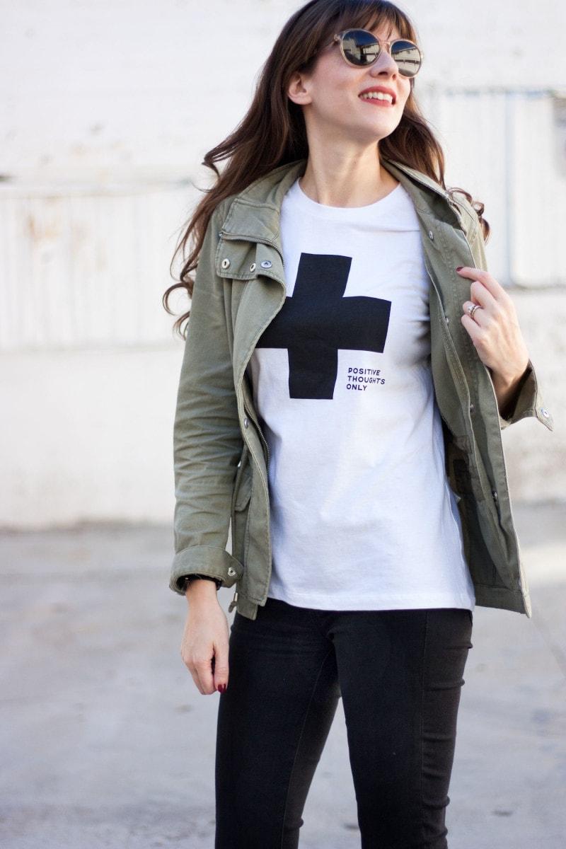 Minimalist Style Blogger wearing Allkiind Tee