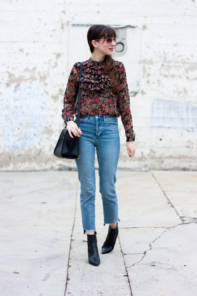 High Waisted Womens Jeans