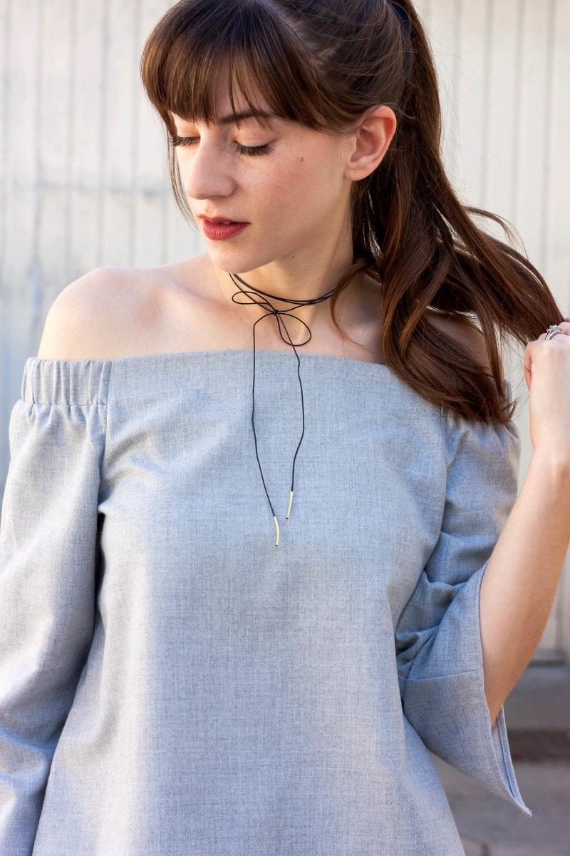 Iris and West Eyelash Extensions on Fashion Blogger
